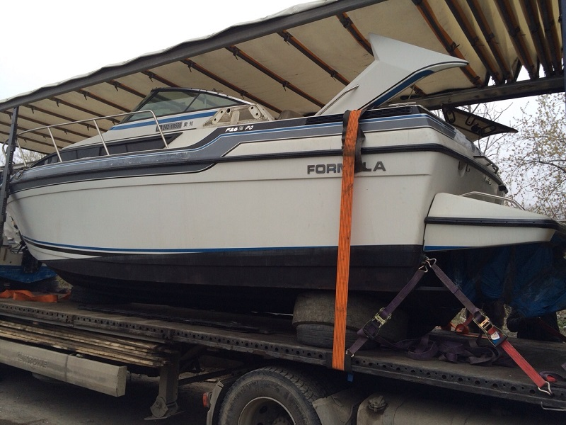 перевозка лодок фурой